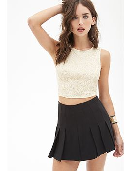 glitter-paisley-crop-top by forever-21