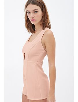woven-cutout-romper by forever-21