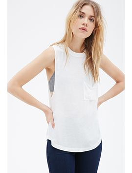 boxy-muscle-tee by forever-21