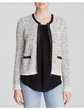 jacolyn-b-tweed-zip-jacket by joie