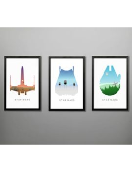 star-wars-original-trilogy-posters by baytreedesigns