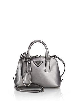 saffiano-lux-mini-promenade-bag by prada