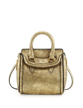 heroine-mini-metallic-satchel-bag,-golden by alexander-mcqueen