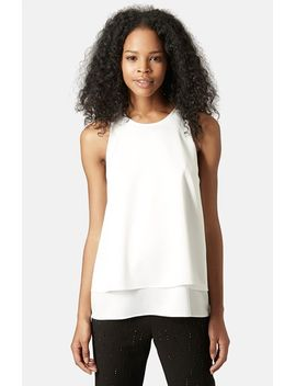 nord-lily-layered-split-back-tank by topshop