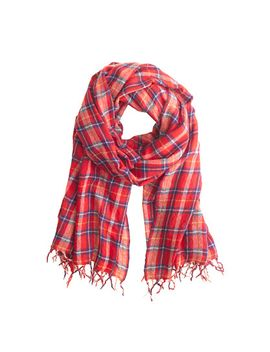 classic-plaid-scarf by jcrew