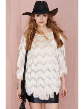 shagging-rights-fringe-top by nasty-gal