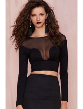 nasty-gal-meshin-with-you-top by nasty-gal