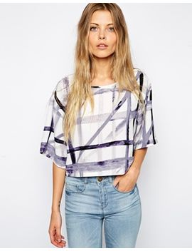 asos-abstract-check-t-shirt by asos-collection