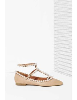 jeffrey-campbell-gaby-leather-flat by nasty-gal