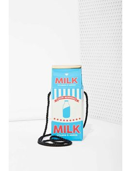 skinnydip-london-vegan-leather-milk-carton-crossbody by nasty-gal