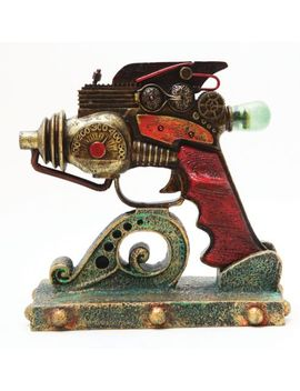 steampunk-display-the-neutron-consolidator-gun-replica-prop-figurine-with-stand by ebay-seller