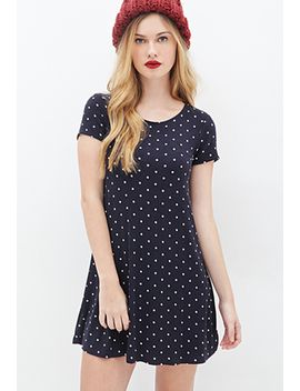 polka-dot-t-shirt-dress by forever-21