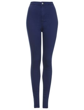 tall-moto-intense-blue-joni-jeans by topshop