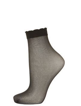 sheer-trim-ankle-socks by topshop