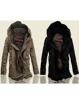 2013-new-winter-mens-thick-cotton-military-coat-ski-jacket-hooded-parka by ebay-seller