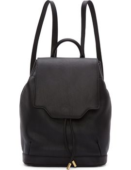black-leather-pilot-backpack by rag-&-bone
