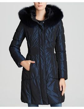 quilted-coat-with-mink-&-fox-fur-trim by maximilian-furs