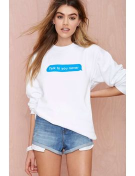 petals-and-peacocks-ttyn-sweatshirt by nasty-gal