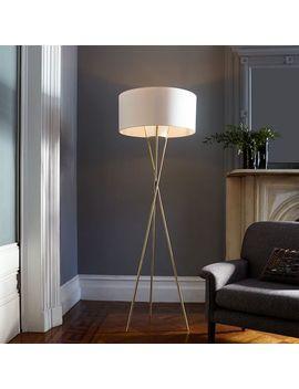 mid-century-tripod-floor-lamp---antique-brass by west-elm