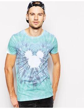 asos-t-shirt-tie-dye-mickey-mouse-print by asos