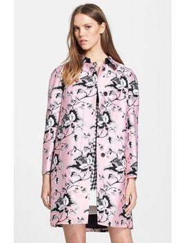 amana-floral-print-wool-&-silk-coat by diane-von-furstenberg