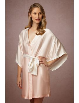 silk-ombre-blush-robe by bhldn