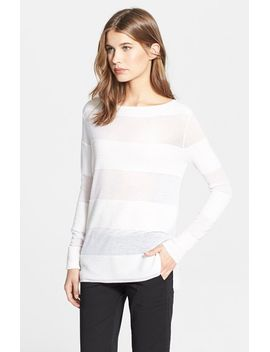ottoman-solid-stripe-sweater by vince
