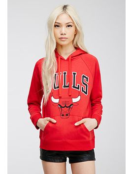 chicago-bulls-logo-hoodie by forever-21