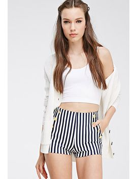 striped-sailor-shorts by forever-21