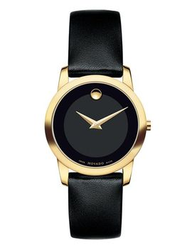 museum-leather-strap-watch,-28mm by movado