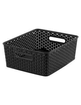 y-weave-medium-storage-bin---black---room-essentials™ by room-essentials™