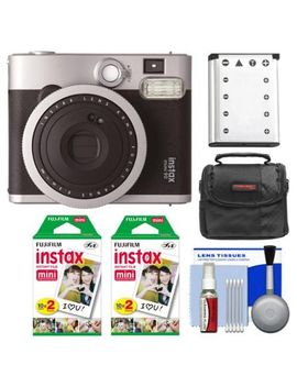 fujifilm-instax-mini-90-neo-classic-instant-film-camera-with-(2)-instant-film-+-case-+-battery-+-cleaning-kit by fujifilm
