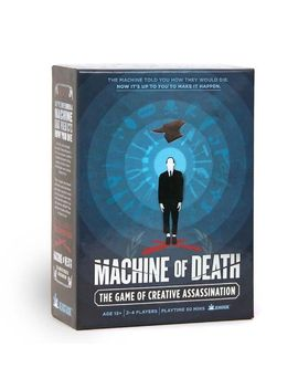 machine-of-death:-creative-assassination by bearstache