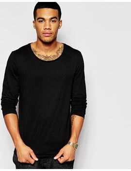 asos-long-sleeve-t-shirt-with-scoop-neck by asos