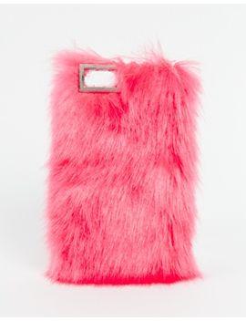 skinnydip-neon-pink-furry-sassy-iphone-5c-case by skinnydip
