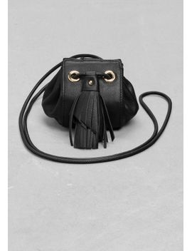 small-leather-drawstring-pouch by &-other-stories