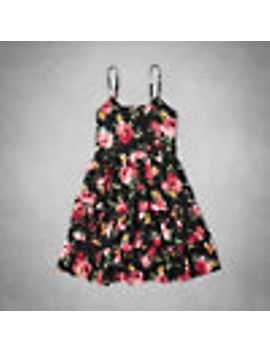 floral-babydoll-dress by abercrombie-&-fitch