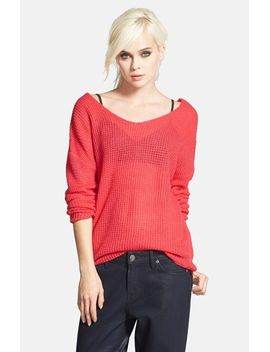 waffle-knit-pullover by tildon