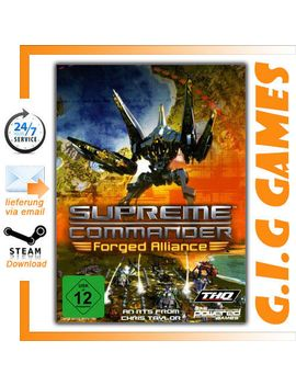 supreme-commander:-forged-alliance-(pc)-steam---region-free--english by ebay-seller