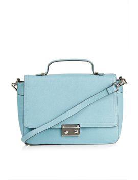 saffiano-satchel by topshop