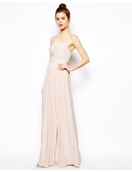 asos-embellished-maxi-dress-with-one-shoulder by asos-collection