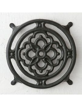 iron-bloom-trivet by terrain