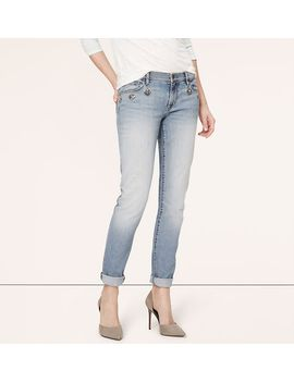 tall-relaxed-skinny-jeweled-jeans-in-horizon-blue-wash by loft