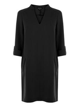 roll-cuff-shift-dress by warehouse
