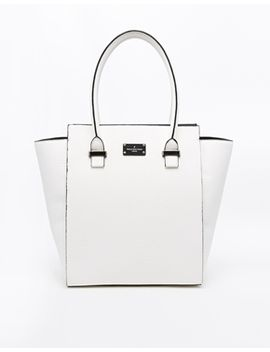 pauls-boutique-mila-white-faux-snake-hand-held-bag by pauls-boutique