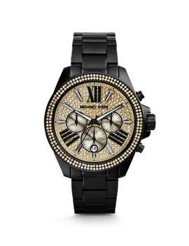 wren-pavé-black-watch by michael-kors