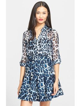 lorelei-two-leopard-print-shirt by diane-von-furstenberg