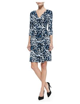 new-julian-two-snow-leopard-print-wrap-dress by diane-von-furstenberg