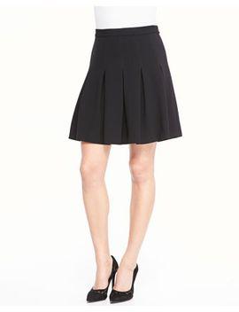 gemma-mini-skirt-w_-godets by diane-von-furstenberg