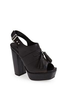 sassy-platform-sandal by topshop
